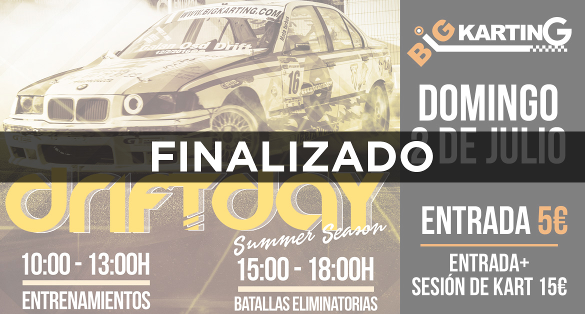 Driftday Summer Season en Gorbeia