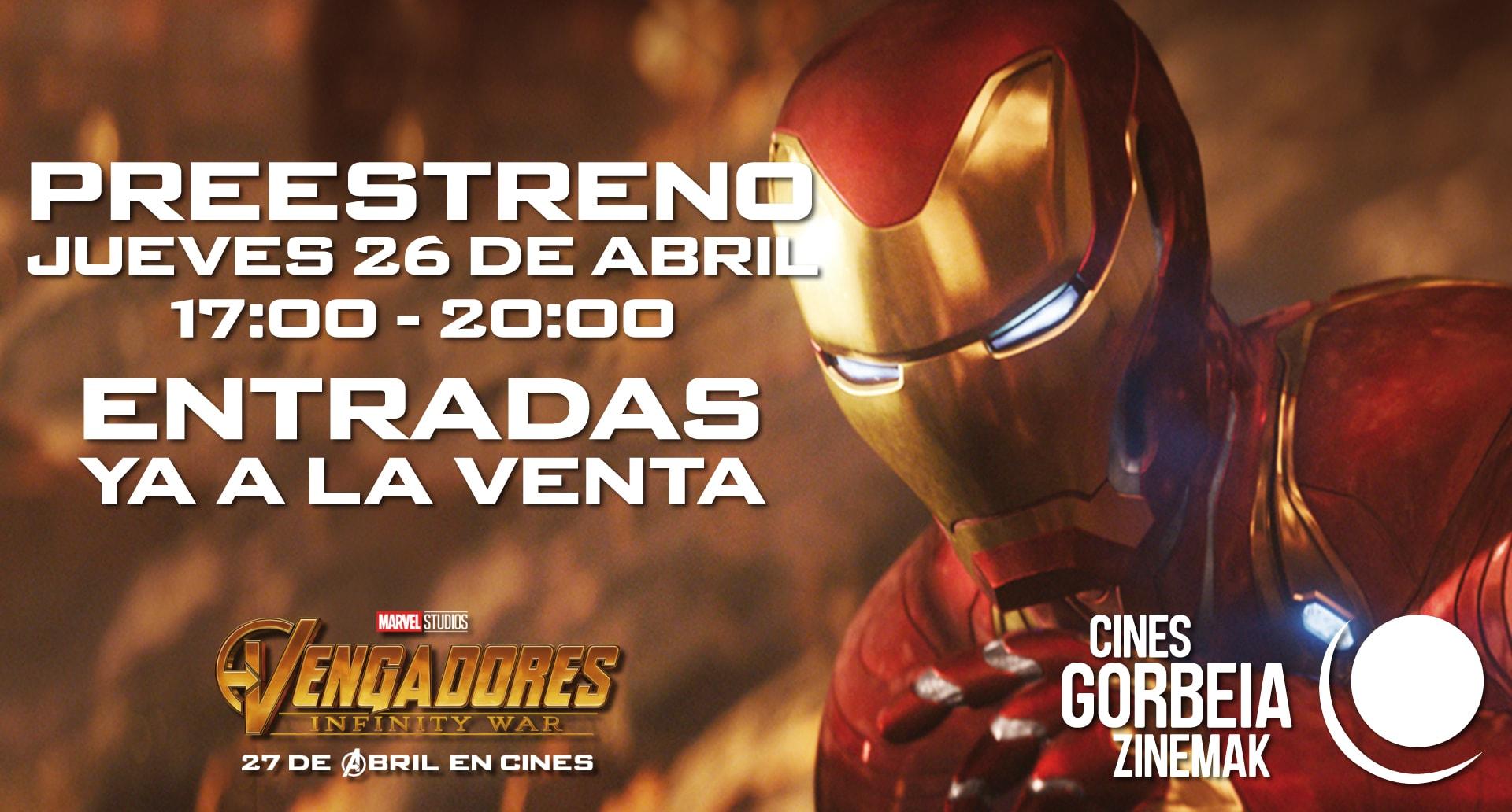 ¡Reserva ya tu entrada para el preestreno en Cines Gorbeia Zinemak!