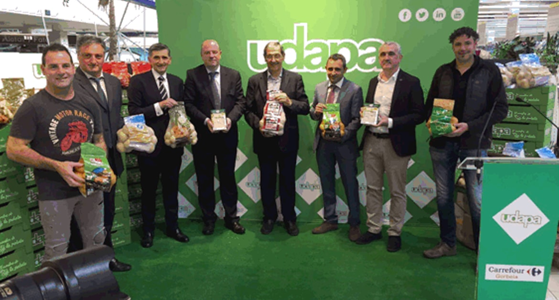 Patatas UDAPA como proveedor de marca propia Carrefour