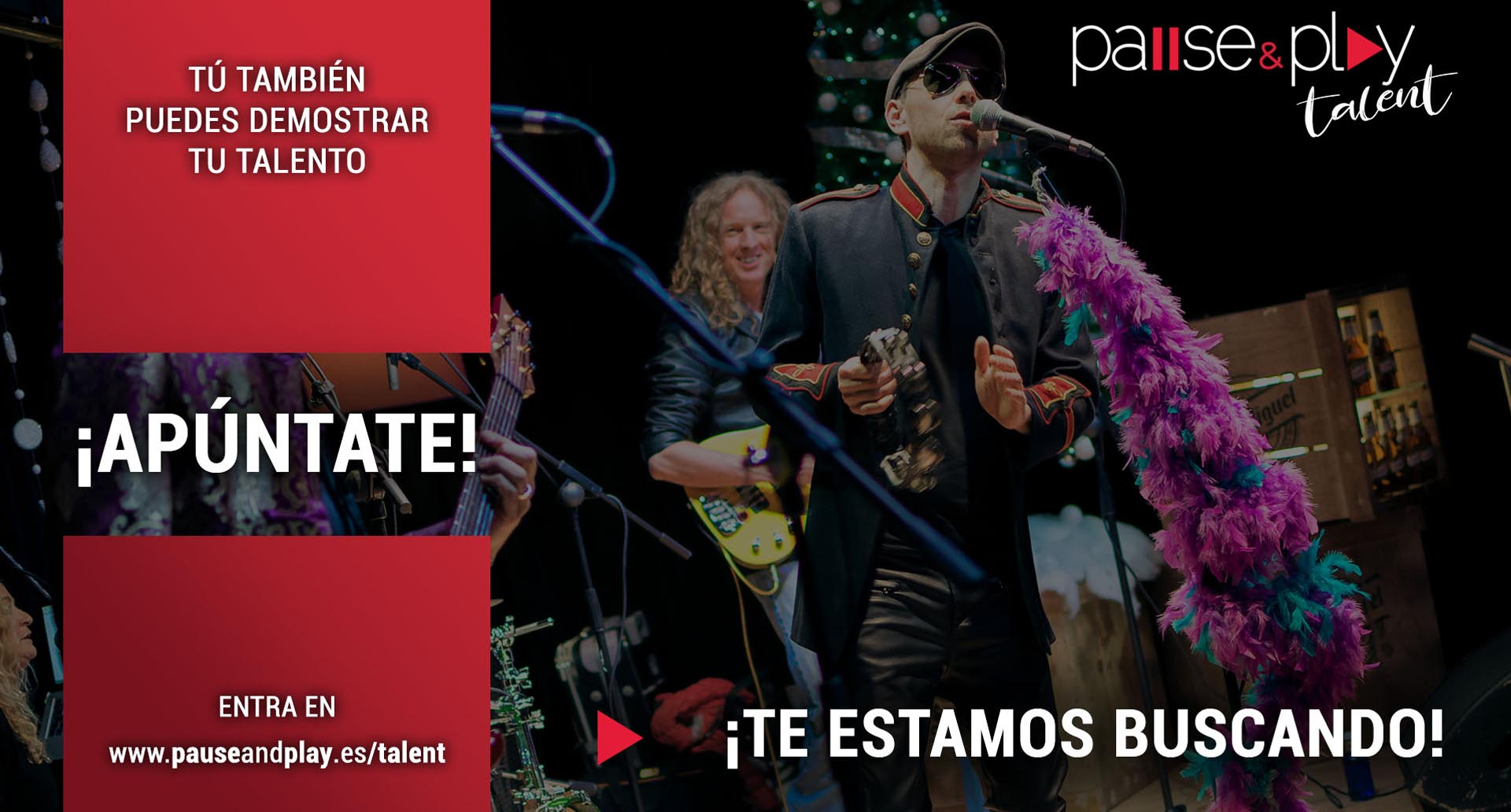 ¡En Pause&Play buscan talento!