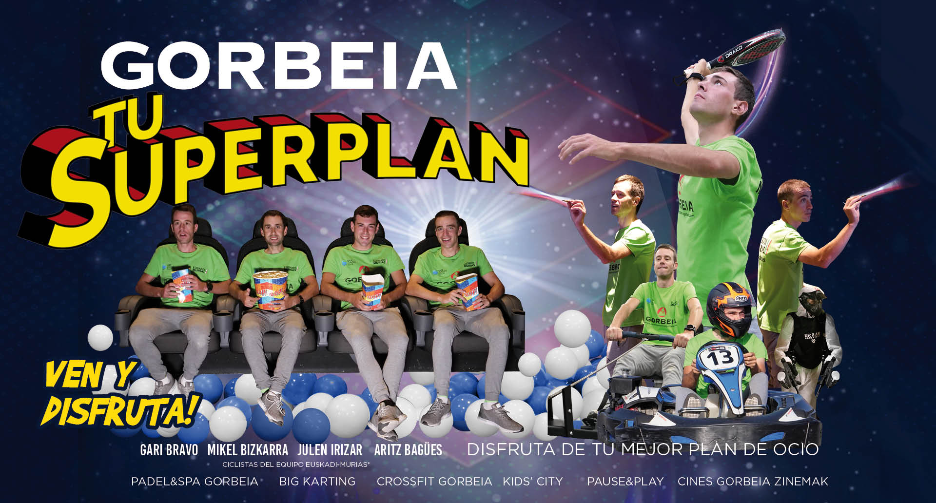 ¡Gorbeia es tu Superplan!