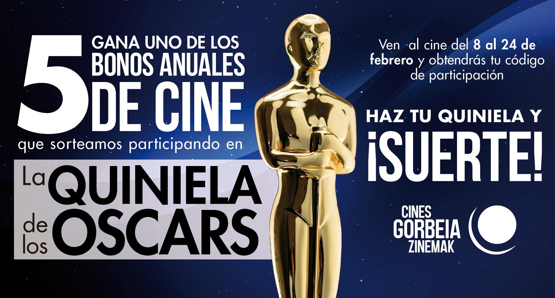 La Quiniela de los Oscars 2019