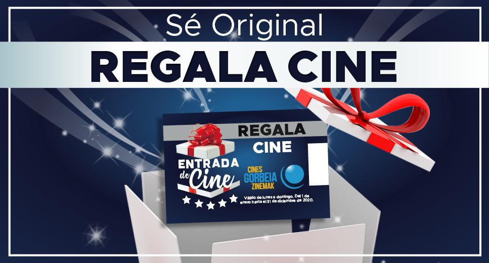 ¡Estas Naviadades regala el pack de 10 entradas por 40€ de Cines Gorbeia!