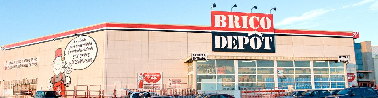 Brico dep t centro comercial gorbeia for Telefono bricodepot granada