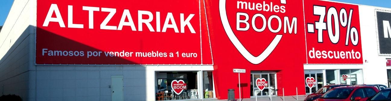 Muebles boom centro comercial gorbeia - Muebles boom 1 euro ...
